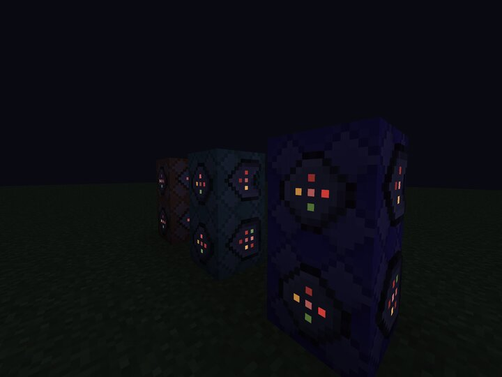 This resource pack does NOT add 3D block models, these are from my other resource pack Goribby's 3D.