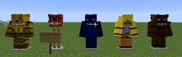 FN@F Texture Pack Minecraft Texture Pack