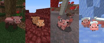 Mo' Pigs Minecraft Texture Pack
