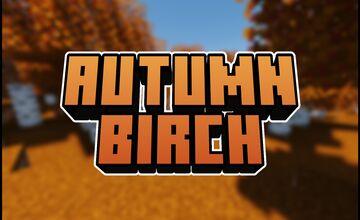 Autumn Birch Minecraft Texture Pack