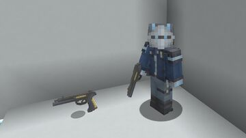 Sci-fi Sidearm, Bow and arrow textures (request) Minecraft Texture Pack
