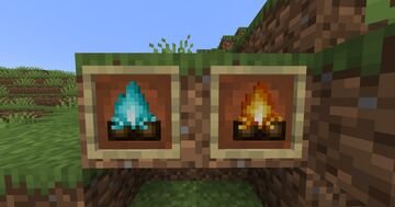 Campfire Old Version Minecraft Texture Pack