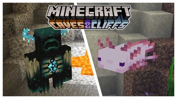 1.17 Entities [Warden] [Axolotl] [Goat] Minecraft Texture Pack