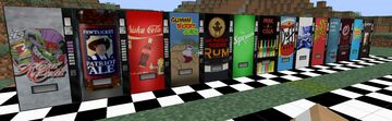 Fictional Drinks Glazed Terracotta Megapack Minecraft Texture Pack