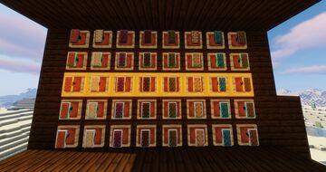 MORE SHIELDS mineral shields resourcepack Minecraft Texture Pack