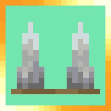 Pointed dripstone to Spikes (20w48a - 20w49a) Minecraft Texture Pack