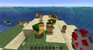 Turtle Ducks Minecraft Texture Pack