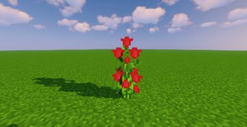 Improved Rosebushes by Shmebulock Minecraft Texture Pack