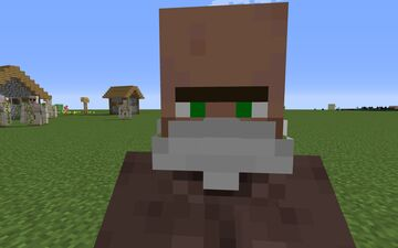 Villagers with masks Minecraft Texture Pack