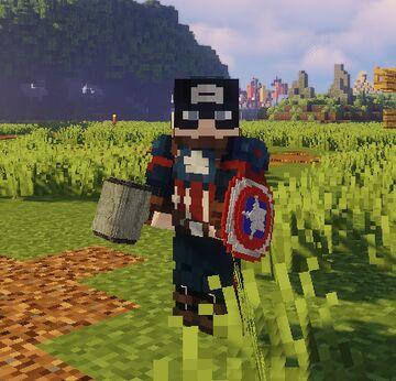 Avengers 3D models V2 Minecraft Texture Pack