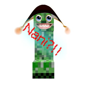 Nani Creepers (resource pack) Minecraft Texture Pack