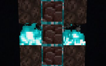 K3wl's Ore Outline - Animated Soulfire Ancient Debris Addon Minecraft Texture Pack