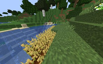 Better And Brighter Wheat Minecraft Texture Pack