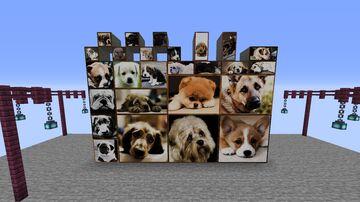 Sad dogs paintings Minecraft Texture Pack