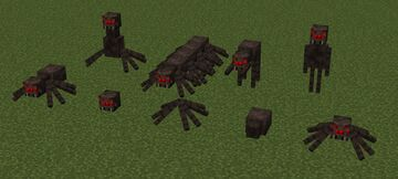 Cursed Spiders Minecraft Texture Pack