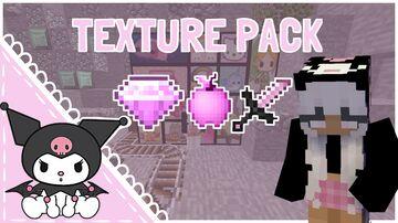 Kawaii Kuromi PvP 1.8+ Minecraft Texture Pack