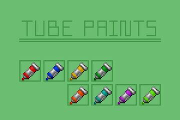 Tube Paints Minecraft Texture Pack