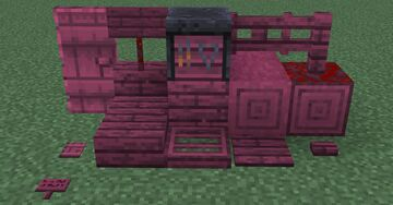 Crimson-like Smithing Table Minecraft Texture Pack