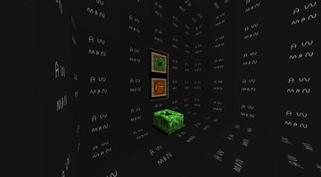Captainsparkelz creeper cake and logo cookie. Minecraft Texture Pack