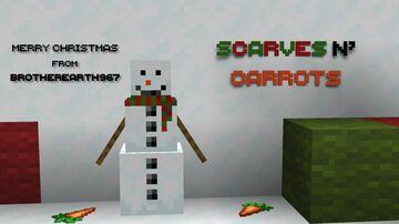 Scarves n' Carrots : Snow Golem Improvements Minecraft Texture Pack