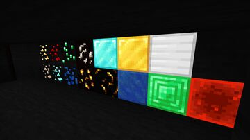 Enchanted Glowing Ore Minecraft Texture Pack