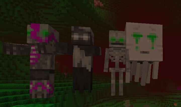 Some re textured mobs