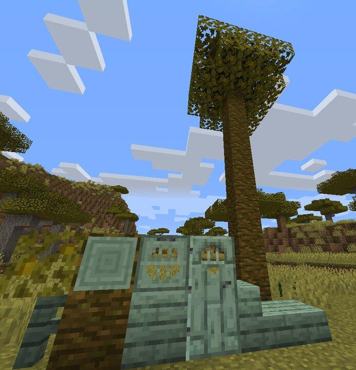 Jungle treewood