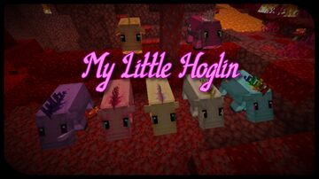 My little Hoglin Minecraft Texture Pack