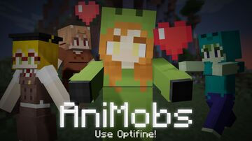 AniMobs [Requires Optifine G8 preview 10 or later!!] Minecraft Texture Pack