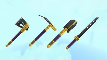 beezel's tools & weapons (no optifine required) Minecraft Texture Pack