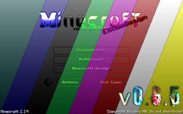 🎨 EScraft: GUI - Transparent - RGB ☚v0.6.5 | 1.14+☛ (soon all color) Minecraft Texture Pack