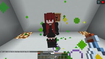 Anime Totem of Undying. Minecraft Texture Pack