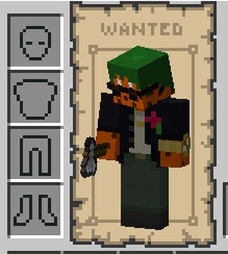 Wanted Poster GUI Minecraft Texture Pack