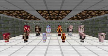 Neko Villagers 1.11-1.12 Minecraft Texture Pack