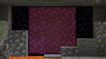 Pink Nether Portal Minecraft Texture Pack