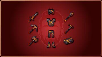 VbD Brimstone Netherite (Legacy) Minecraft Texture Pack