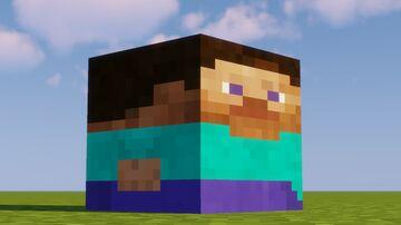 Block Steve Texture Pack Minecraft Texture Pack