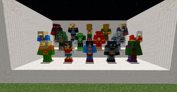 DC Comics Superheroes Resource Pack Minecraft Texture Pack