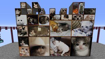 Sad cats paintings Minecraft Texture Pack
