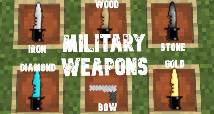 Military Weapons Minecraft Texture Pack