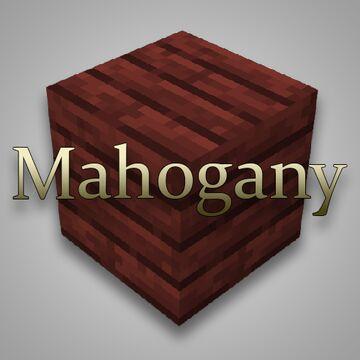 Mahogany Wood Minecraft Texture Pack