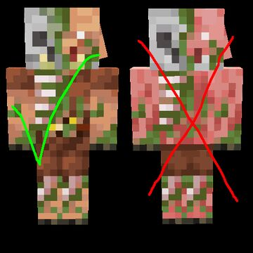Realistic zombified piglins Minecraft Texture Pack