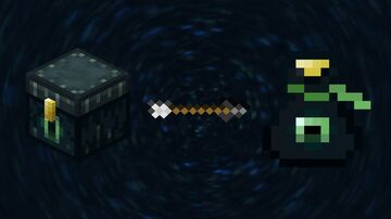 Ender chest to bag (obsidian) Minecraft Texture Pack