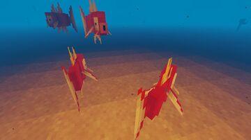 Salmon to Magikarp Minecraft Texture Pack