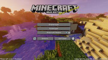 HD Title Screen Minecraft Texture Pack