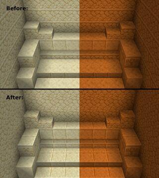 Better Vanilla Sandstone Minecraft Texture Pack