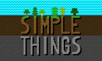 Simple Things Minecraft Texture Pack