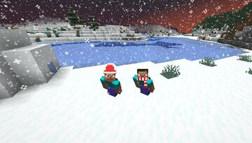 Winter accessories Minecraft Texture Pack