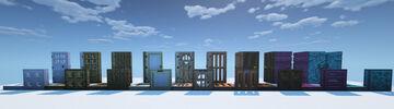 3D Doors & Trapdoors Minecraft Texture Pack