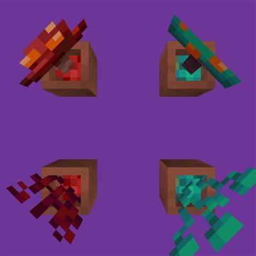 Altered Potting Media for Nether Plants Minecraft Texture Pack